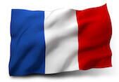 Flaga symbolizująca język francuski