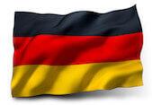 Flaga symbolizująca język niemiecki