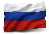 Flaga symbolizująca język rosyjski