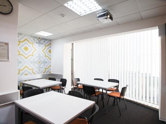 Malta biznesowy kurs angielskiego w St. Julian's - sala szkoleniowa