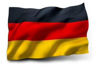 test z języka niemieckiego flaga