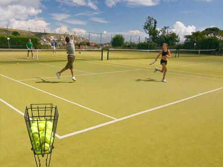 Kompleks sportowy w Swanage (Anglia) - obóz językowy dla młodzieży