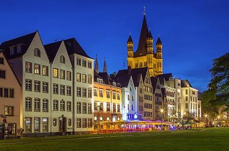 Zwiedzanie Kolonii po zajęciach na kursie języka niemieckiego dla dorosłych