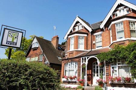 Budynek szkoły London Wimbledon - kurs IELTS