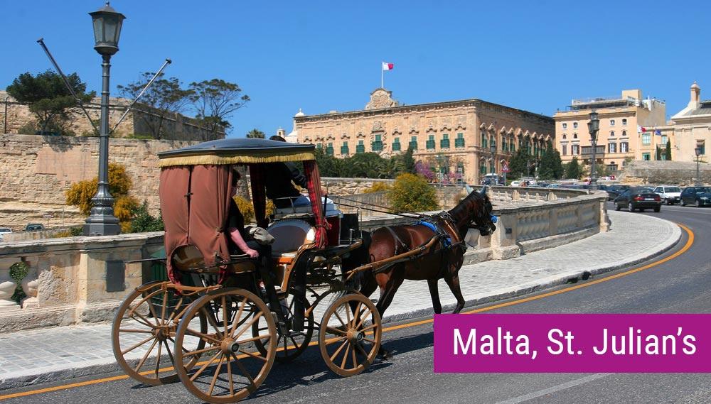 Kurs angielskiego na Malcie dla dorosłych, zakwaterowanie w apartamentach