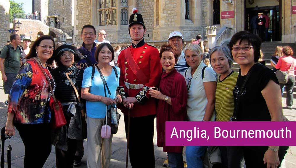 Kurs języka angielskiego dla dorosłych 50+ w Bournemouth
