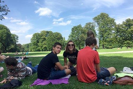 Obóz języka niemieckiego w Monachium dla młodzieży
