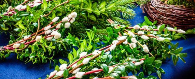 Wielkanocne palmy w Austrii różnią się od polskich