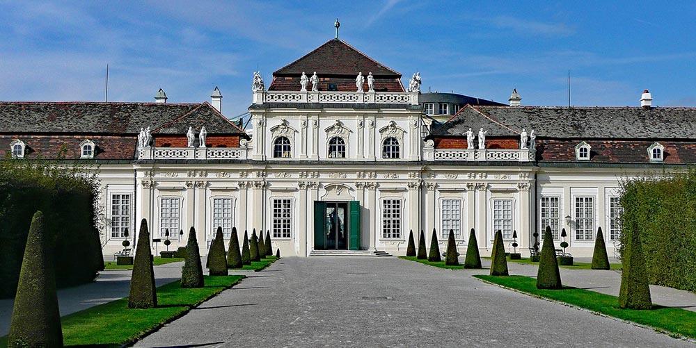 Barokowy zespół pałacowy Schloss Belvedere w Wiedniu