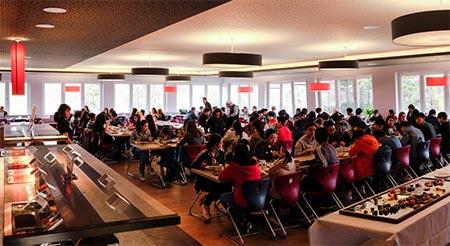 Młodzież ma do dyspozycji nowoczesny kampus