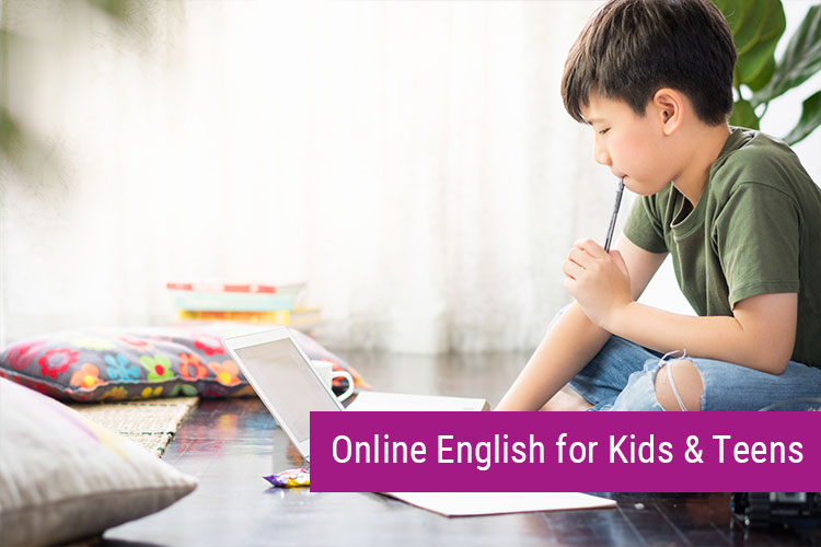 Online General English for Kids & Teens 8-17