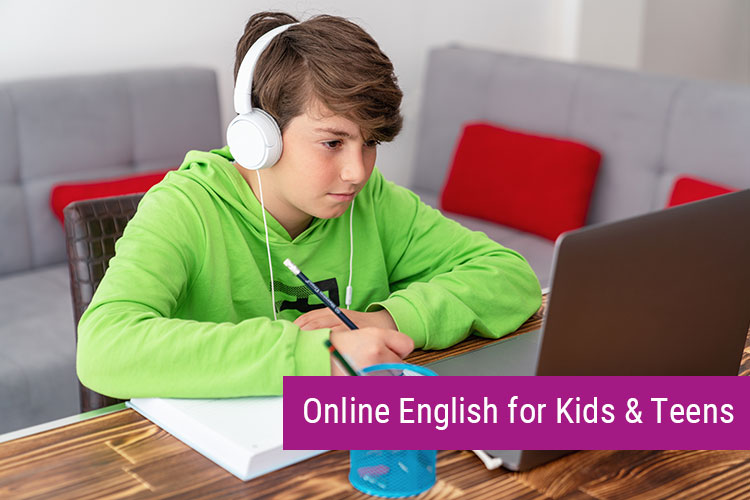 Online English for Kids and Teens