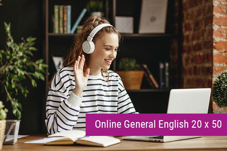 Online General English 20x50 min.